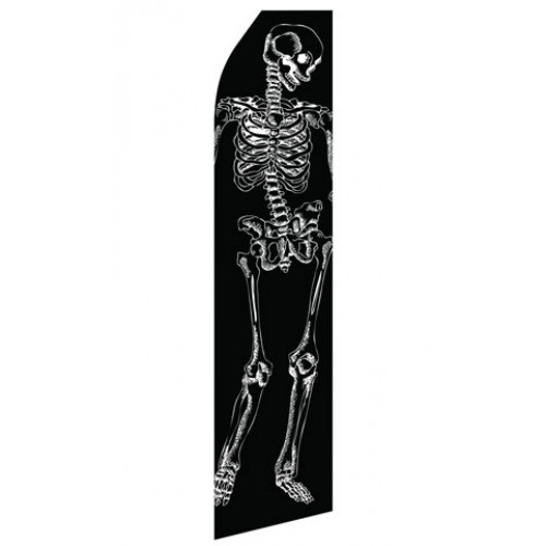 Skeleton Econo Stock Flag