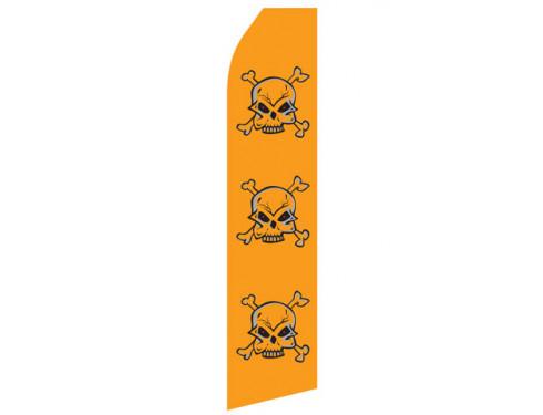 Skull Econo Stock Flag