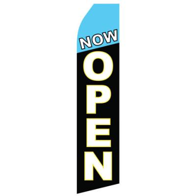 Now Open Econo Stock Flag