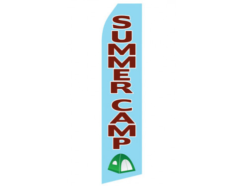 Summer Camp Econo Stock Flag