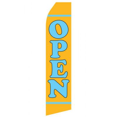 Yellow Open Econo Stock Flag