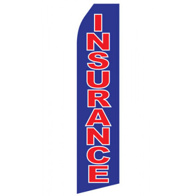 Blue Insurance Econo Stock Flag