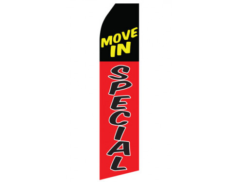 Move In Special Econo Stock Flag