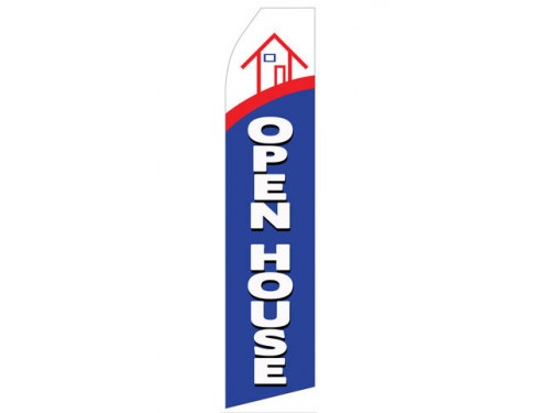 Open House Econo Stock Flag