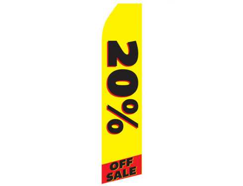 20% off Sale Econo Stock Flag