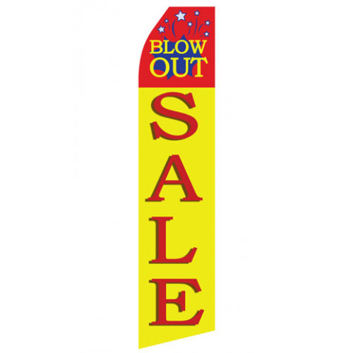 Blow Out Sale Econo Stock Flag