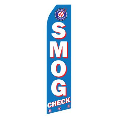 Smog Check Econo Stock Flag