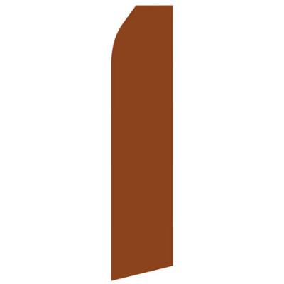 Brown Econo Stock Flag