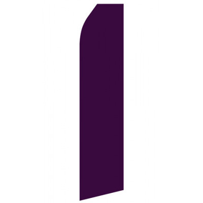 Burgundy Econo Stock Flag