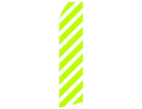 Green Slash Econo Stock Flag