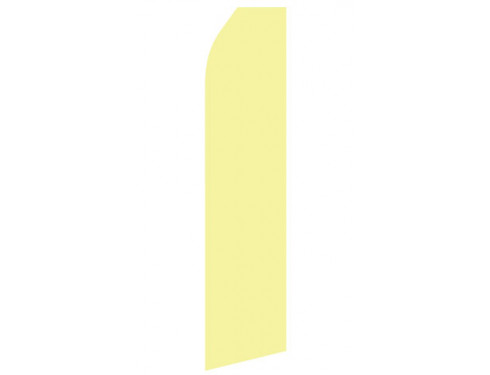 Light Yellow Econo Stock Flag