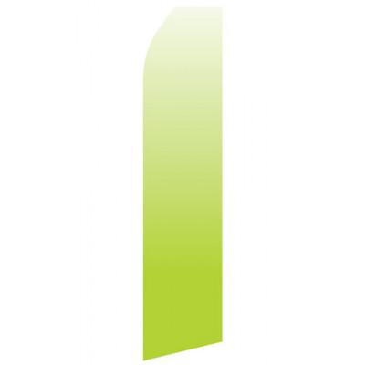 Lime Green Gradient Econo Stock Flag