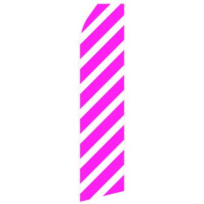 Magenta Stripe Econo Stock Flag