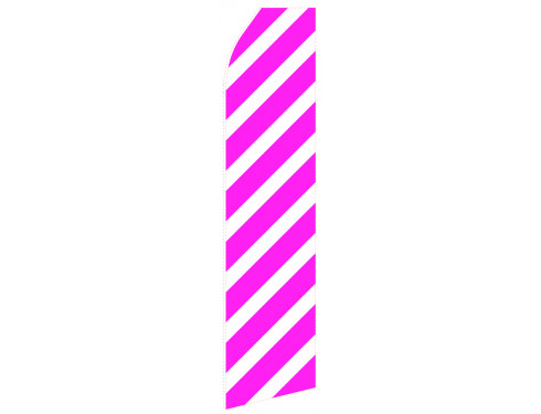 Magenta Stripe Econo Stock Flag