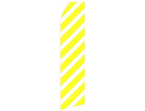 Yellow Stripe Econo Stock Flag