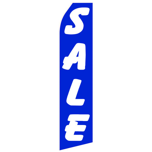 Blue Sale Econo Stock Flag