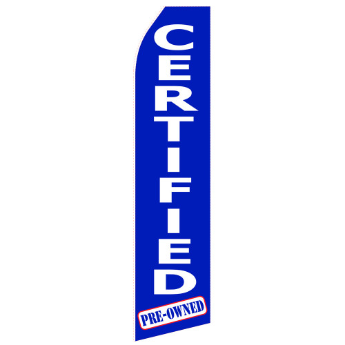 Certified Car Econo Stock Flag