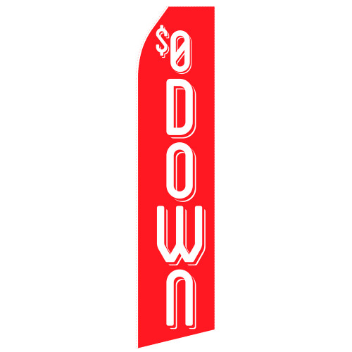 $0 Down Econo Stock Flag