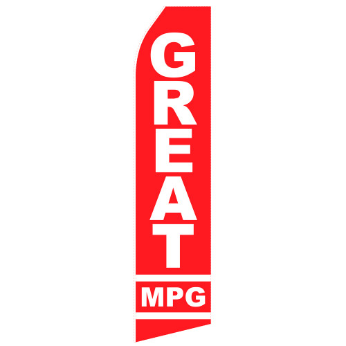Great MPG Econo Stock Flag