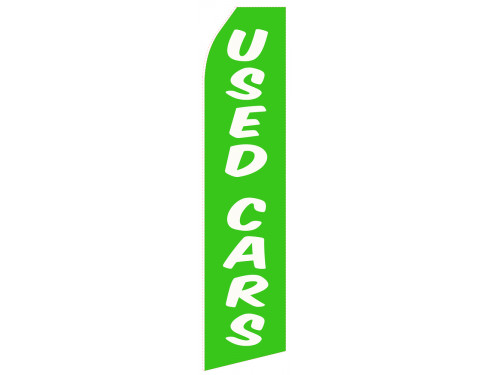 Green Used Car Econo Stock Flag