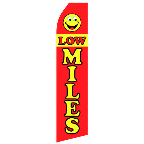 Low Miles Econo Stock Flag