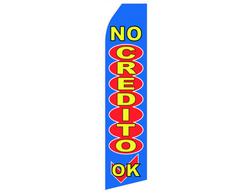 No Credit Econo Stock Flag