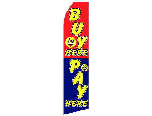Pay Here Econo Stock Flag