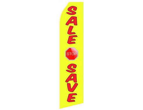 Sale Save Econo Stock Flag