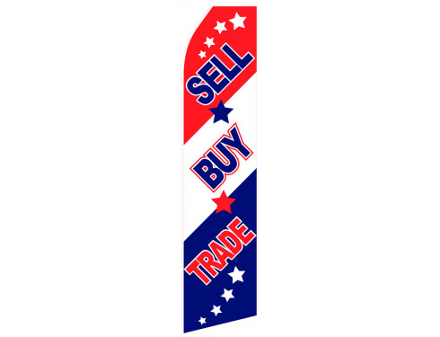 Sell Buy Trade Econo Stock Flag