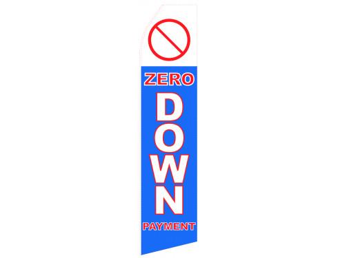 Zero Down Payment Econo Stock Flag