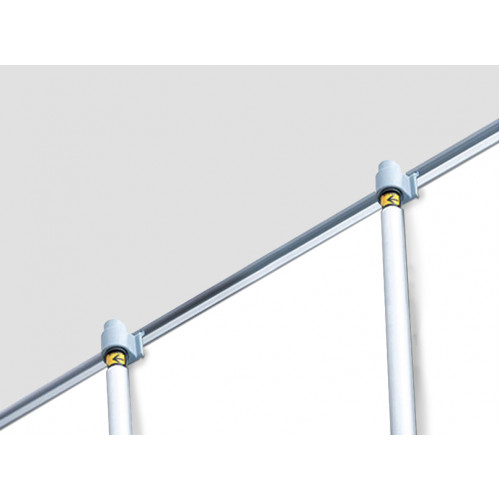 "SD Retractable 48"" x92"" (Silver)"