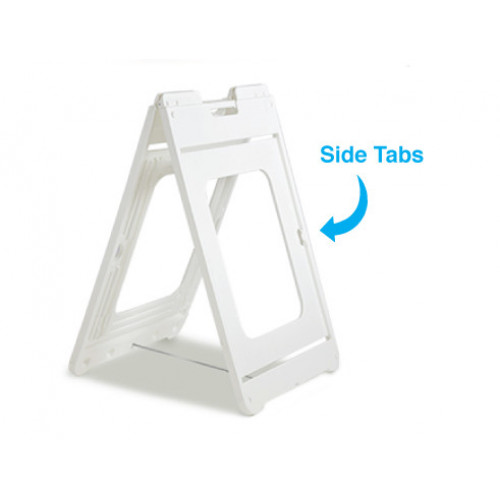 White Simposign A-Frame