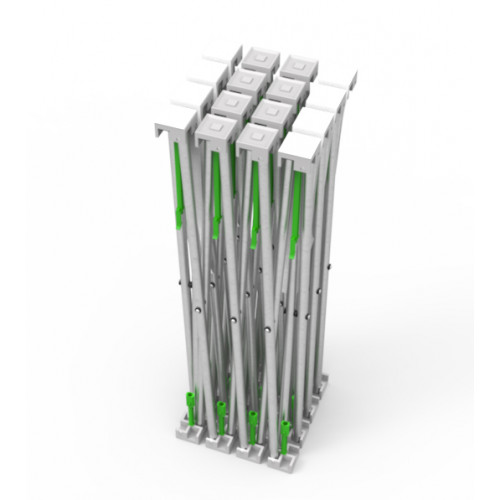 10ft Straight Velcro Fabric Pop Up Display