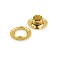 #2 Self Piercing Brass Grommets <nl>